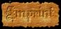 Font Kelly Ann Gothic Imprint Logo Preview