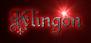 Font Kelly Ann Gothic Klingon Logo Preview