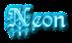 Font Kelly Ann Gothic Neon Logo Preview