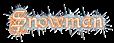 Font Kelly Ann Gothic Snowman Logo Preview