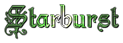 Font Kelly Ann Gothic Starburst Logo Preview
