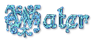 Font Kelly Ann Gothic Water Logo Preview