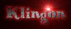 Font Knuffig Klingon Logo Preview