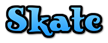 Font Knuffig Skate Logo Preview