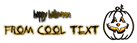 Font Kornucopia Halloween Symbol Logo Preview