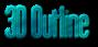 Font Labtop 3D Outline Textured Logo Preview