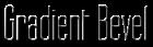 Font Labtop Gradient Bevel Logo Preview