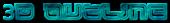 Font Leftovers 3D Outline Textured Logo Preview