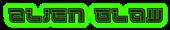 Font Leftovers Alien Glow Logo Preview