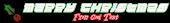 Font Leftovers Christmas Symbol Logo Preview