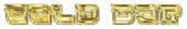 Font Leftovers Gold Bar Logo Preview