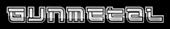 Font Leftovers Gunmetal Logo Preview