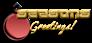 Font Leftovers Seasons Greetings Logo Preview