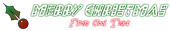 Font Leftside Christmas Symbol Logo Preview