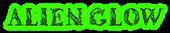 Font Letters Animales Alien Glow Logo Preview