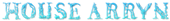 Font Letters Animales House Arryn Logo Preview