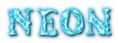Font Letters Animales Neon Logo Preview