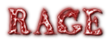 Font Letters Animales Rage Logo Preview