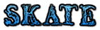 Font Letters Animales Skate Logo Preview