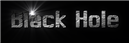 Font MacType Black Hole Logo Preview