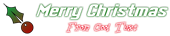 Font MacType Christmas Symbol Logo Preview