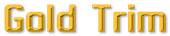 Font MacType Gold Trim Logo Preview