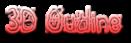 Font Magician 3D Outline Gradient Logo Preview