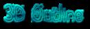 Font Magician 3D Outline Textured Logo Preview
