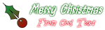 Font Magician Christmas Symbol Logo Preview