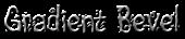Font Magician Gradient Bevel Logo Preview