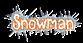 Font Magician Snowman Logo Preview