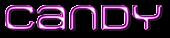 Font MetroDF Candy Logo Preview