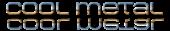 Font MetroDF Cool Metal Logo Preview