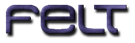Font MetroDF Felt Logo Preview