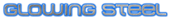 Font MetroDF Glowing Steel Logo Preview