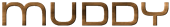 Font MetroDF Muddy Logo Preview