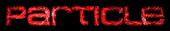 Font MetroDF Particle Logo Preview