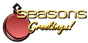 Font MetroDF Seasons Greetings Logo Preview