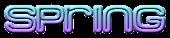 Font MetroDF Spring Logo Preview