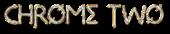 Font Metrolox Chrome Two Logo Preview