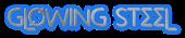 Font Metrolox Glowing Steel Logo Preview