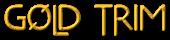 Font Metrolox Gold Trim Logo Preview
