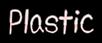 Font みかちゃん mikachan PB Plastic Logo Preview