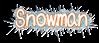 Font みかちゃん mikachan PB Snowman Logo Preview