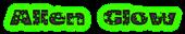 Font Oh my God Stars Alien Glow Logo Preview