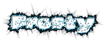 Font Oh my God Stars Frosty Logo Preview