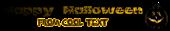 Font Oh my God Stars Halloween Symbol Logo Preview