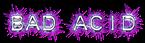 Font Plastique Bad Acid Logo Preview