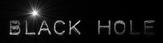 Font Plastique Black Hole Logo Preview