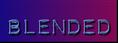 Font Plastique Blended Logo Preview